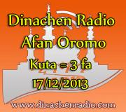 Dinachen Radio Afan Oromo Program #3 17/12/2013